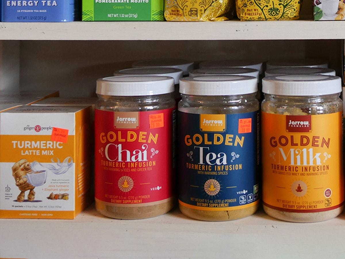 Golden Chai Golden Tea